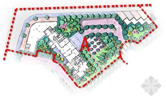 武汉住宅项目一期A区景观设计方案