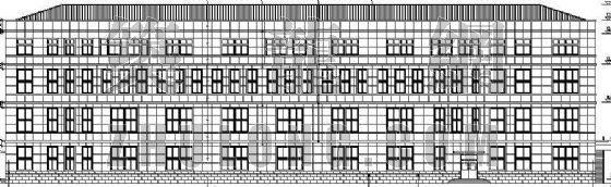 某事务所建筑、结构、暖、电气施工图-某事务所建筑 、结构、暖、电气施工图