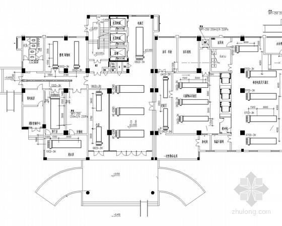 [江西]医院外科大楼暖通空调通风排烟系统施工图(空气源热泵)
