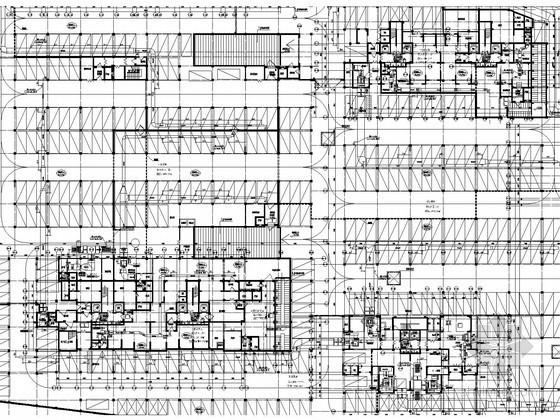 [福建]高层建筑通风防排烟系统设计施工图(含配电房暖通 人防设计)