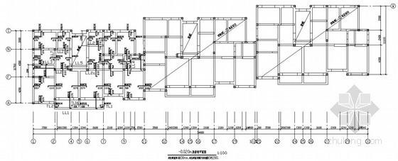 [青岛]四层砌体结构住宅结构施工图(条形基础 6号楼)