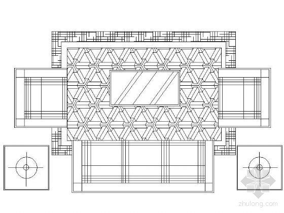 家居设计平面图块