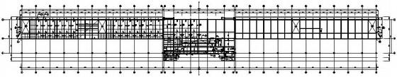 某框架结构体育看台结构施工图(中南院)