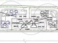 住宅小區施工現場平面布置圖(基礎、主體、裝修)