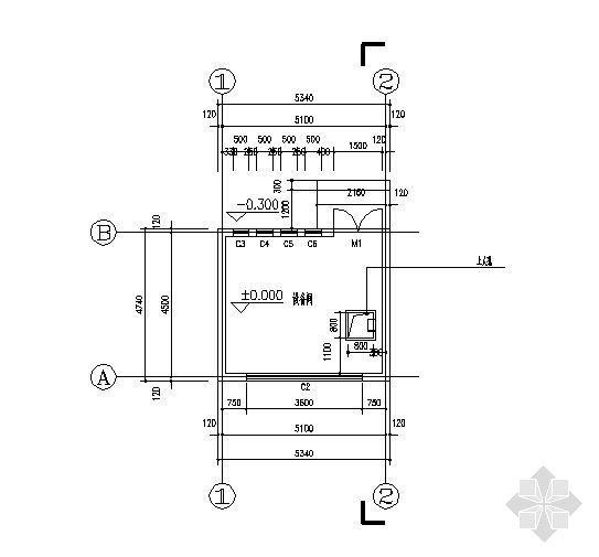 水处理设备间详图-2