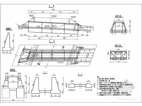 高速公路互通立交钢筋混凝土盖板涵施工图设计(中交)