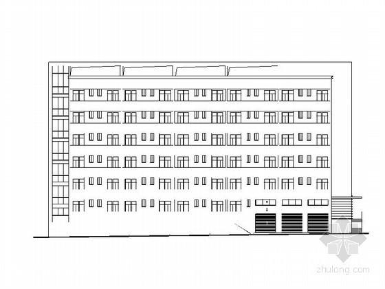 [重庆]某星光学校六层学生宿舍建筑初步图