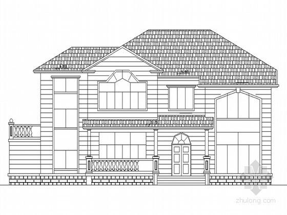 某二层高档别墅设计图(含效果图)