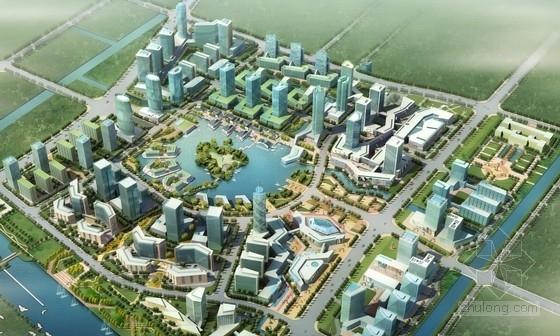 ua建筑公司文本资料下载-[上海]商业区规划及单体设计方案文本(知名建筑公司)