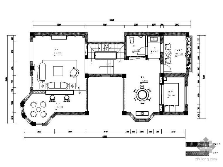 [宁波]雅致现代三层别墅室内装修图