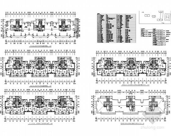 [浙江]一类高层住宅及商业办公楼强弱电全套设计施工图纸200张(2015年完成)