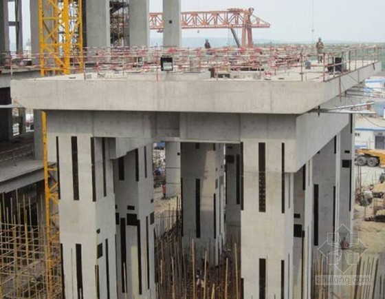 火力发电厂建筑工程清水混凝土施工工艺示范卡(附图)