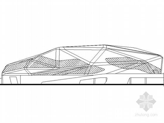[广州]知名大型现代风格省级歌剧院建筑设计施工图(世界知名女设计师)