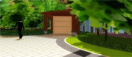 车库入口设计