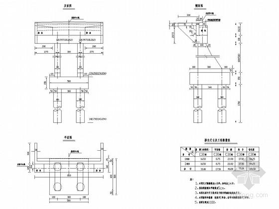 分离式立交连续箱梁桥桥台施工图设计