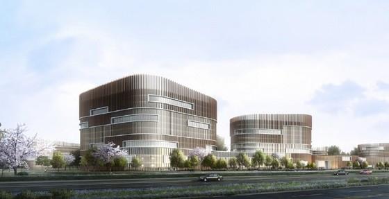 医院概念规划设计方案效果图