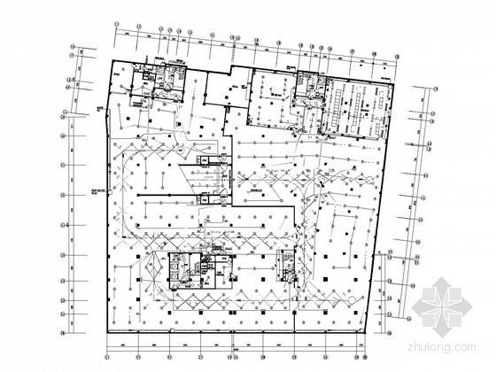 [湖南]甲级设计院酒店式公寓全套电气施工图纸76张