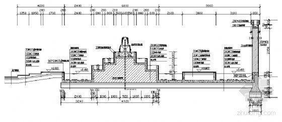 跌水景观施工详图-2