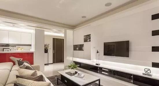 开放式家装设计案例,简约素雅_2