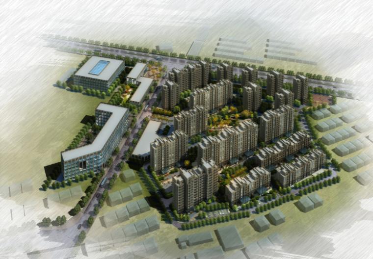 [江苏]扬州市金达西湖住宅建筑设计方案文本