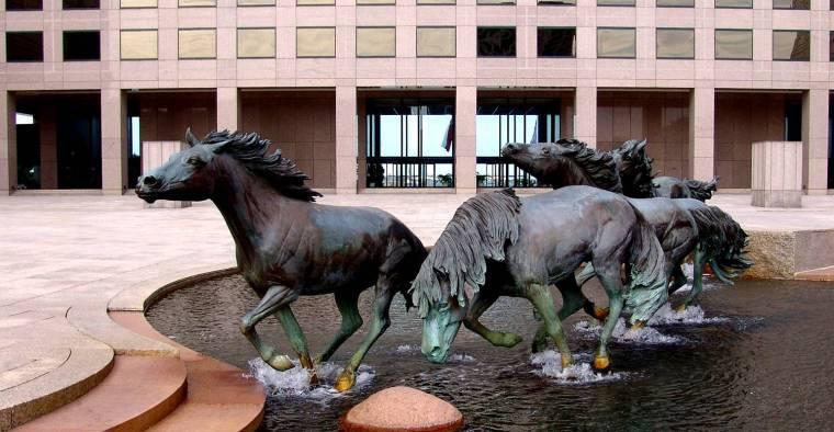 园林景观雕塑常用材质——青铜动物雕塑