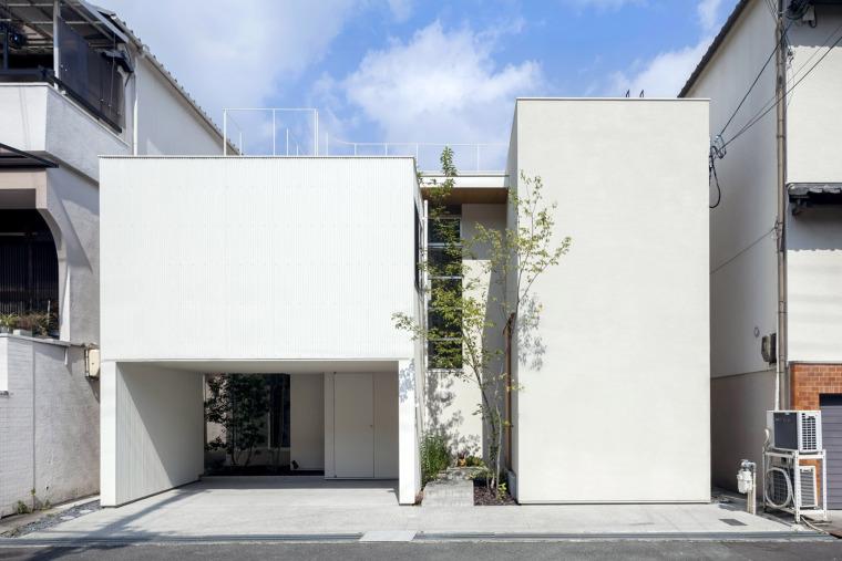 大阪夹缝住宅-1