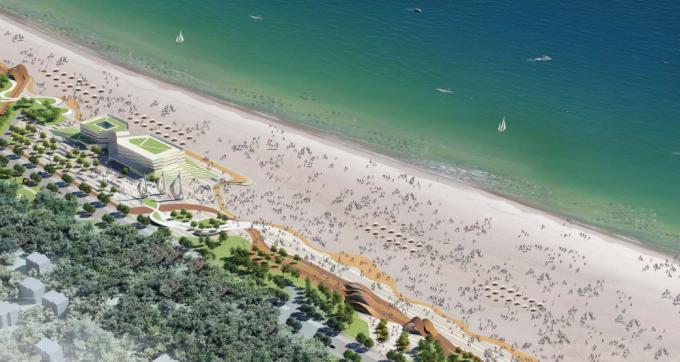 [山东]海滨生态城市地标黄金海岸景观规划设计方案_2