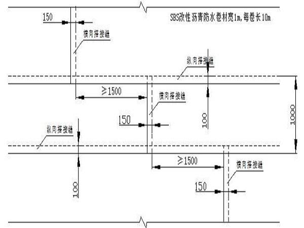 基础防水工程施工方案Word版(共15页)