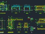 工业设备基础图(锅炉、管廊、钢框架、桁架)
