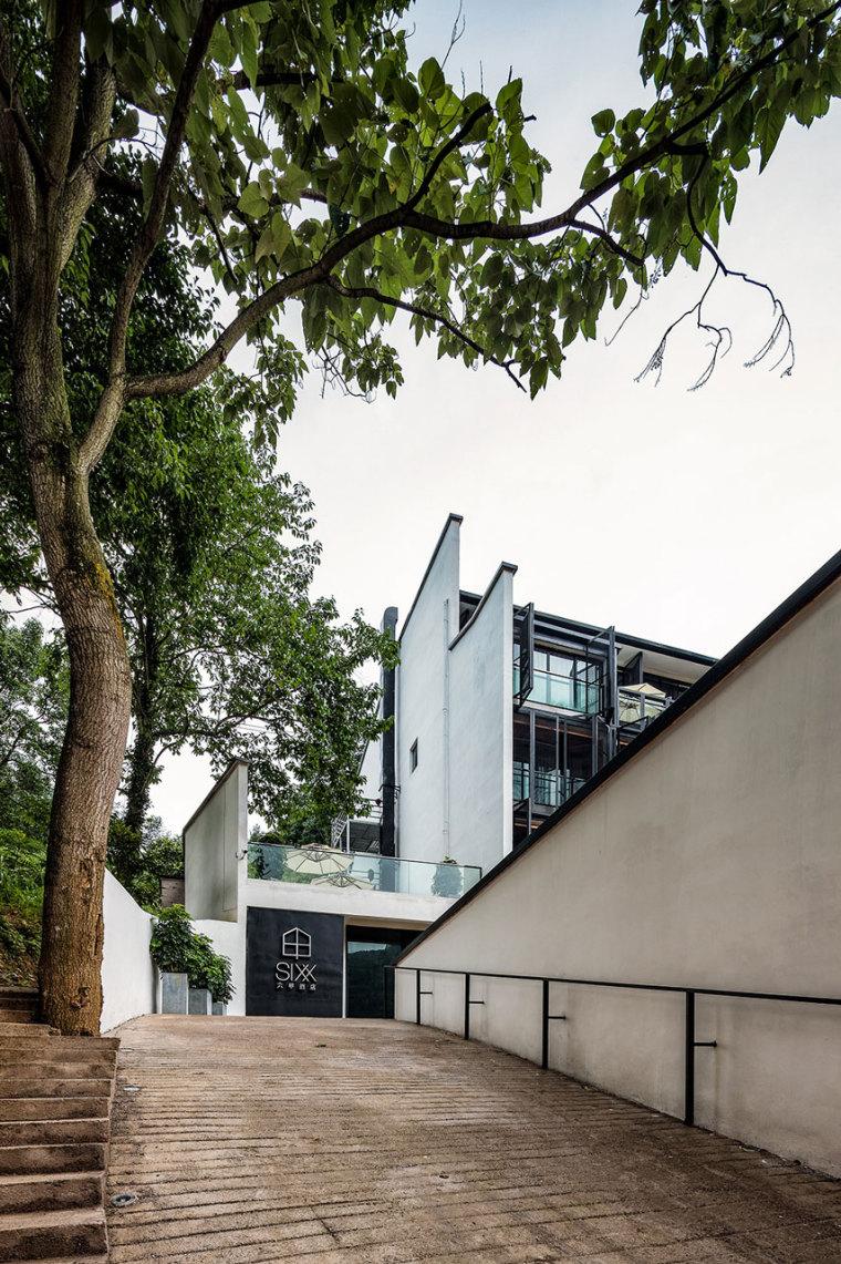 张家界传统湘西风格的六甲设计酒店-2