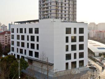上海蓝村路办公建筑