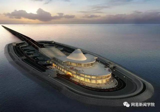 用钢圆管筑岛,港珠澳大桥人工岛这方案完胜日本|了不起的中国_2
