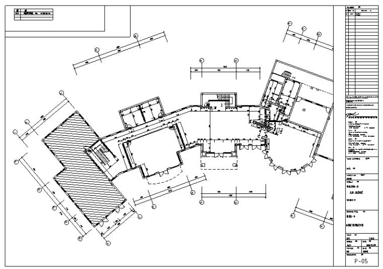 武汉蔚蓝海岸会所室内设计施工图纸