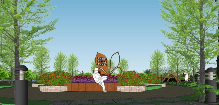 城市生态农业园民宿景观设计 5