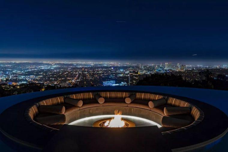 3.98亿的超级山顶豪宅,无比奢侈的观景台_16