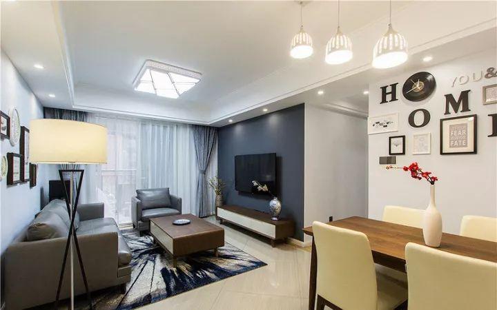 81㎡简约风,打造舒适简洁的家居环境!