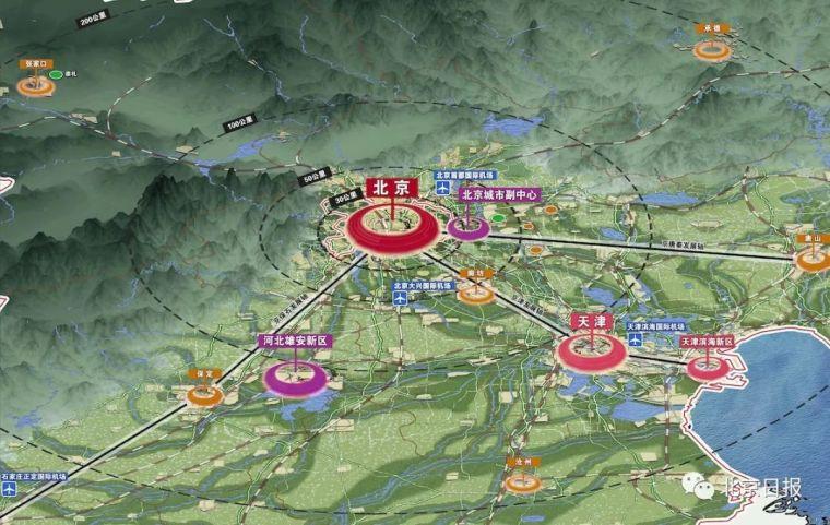 北京城市副中心控规揭晓!这组全图细化到每个学校、医院