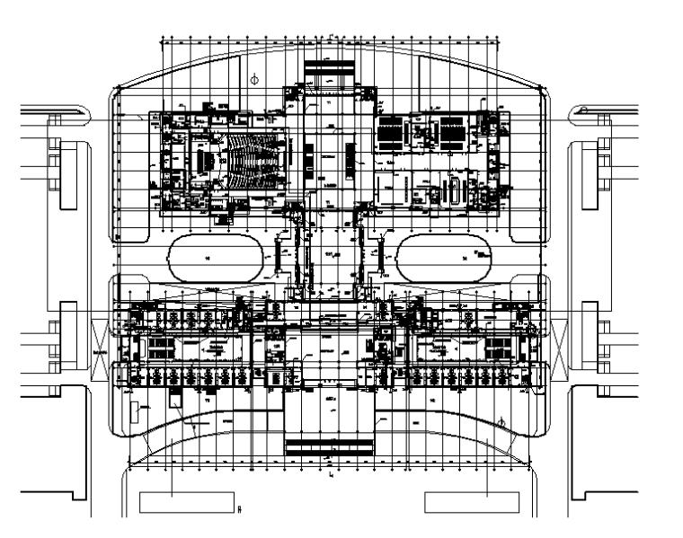 江苏金坛行政中心给排水设计施工图