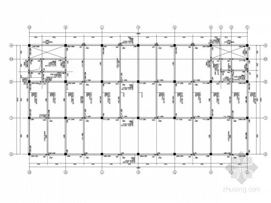 [武汉]3层框架厂房结构施工图