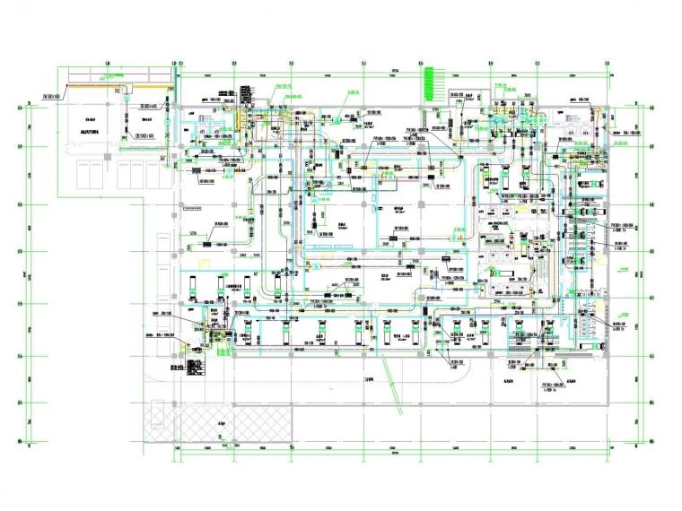 [内蒙古]高层五星酒楼空调通风及防排烟系统(冷热源,采暖设计)