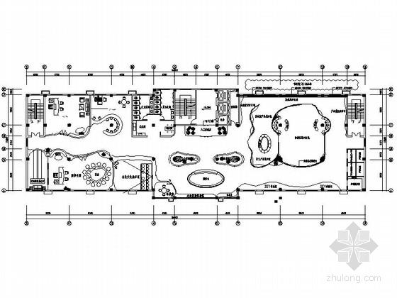 工业材料展厅设计施工图(含效果图)