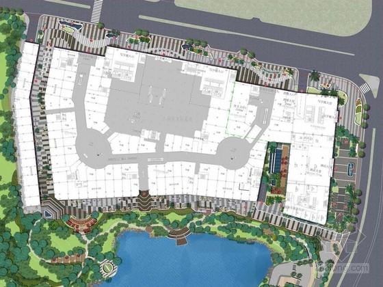 [广西]现代时尚商业广场景观规划设计方案