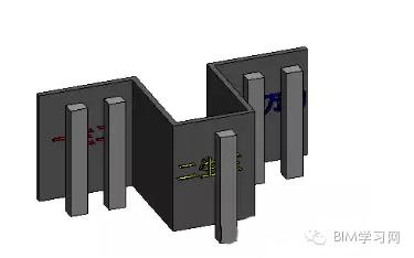 Revit中创建分段剖面视图的方法