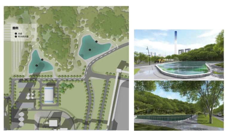 """[福建]""""碧海青山""""乐活文化电厂景观规划设计文本(效果图精美)-主要景观节点设计"""