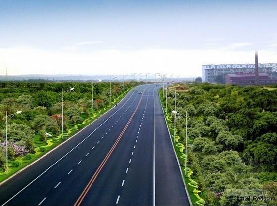 [广东]市政道路路面扩建工程预算书(含施工图纸)