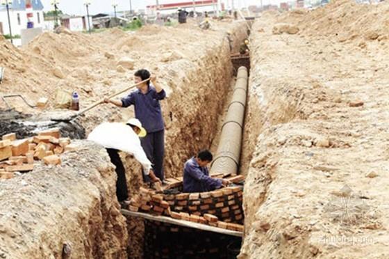 [北京]道路工程污水管线机械顶管施工方案