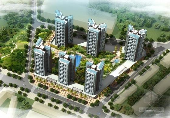 [广东]现代风格高尚居住区规划设计方案文本