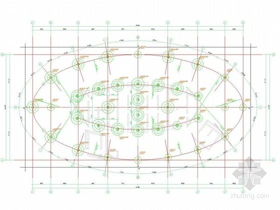 [江苏]超高层建筑大直径桩基础施工图(人工挖孔桩 钻孔灌注桩)