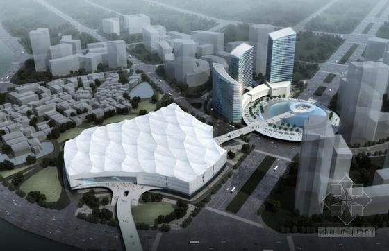 """[福建]""""海的切片""""多层会展中心建筑设计方案文本(含超高层建筑)"""