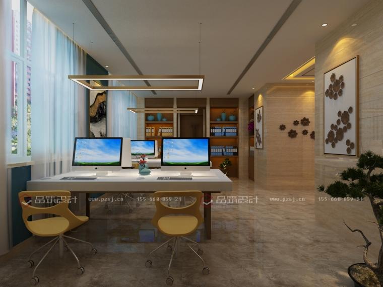 沈阳地产公司办公室设计效果图震撼来袭-10.jpg